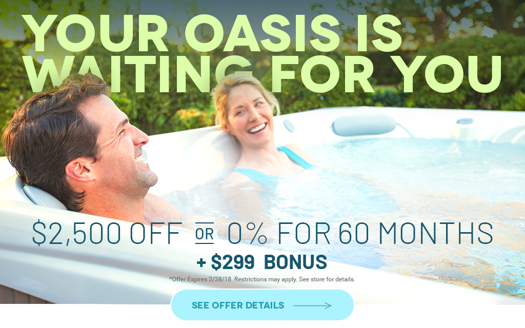 Hot Tub Sale Watertown, SD | Home Oasis Specials on Pools, Spas ...